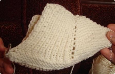Мастер-класс Вязание спицами: Вязание следков. Нитки. Фото 14
