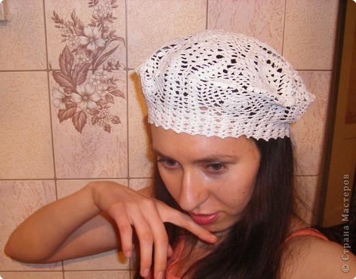 Женская биретка вязание