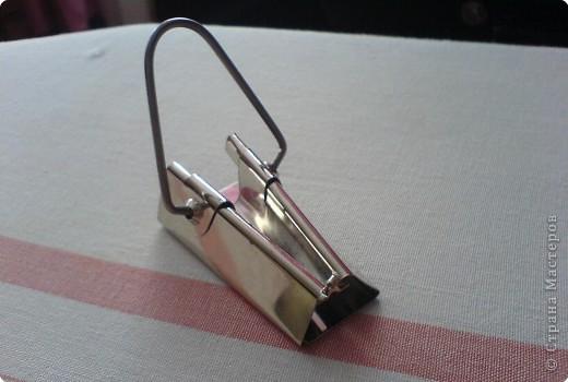 Материалы и инструменты: Устройство для изготовления косой бейки. Фото 1