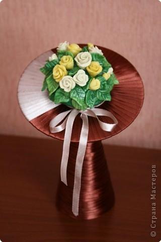 Лепка: Букет роз