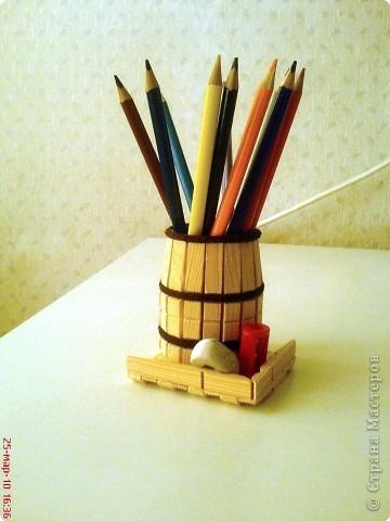 Мастер-класс Конструктор: МК. Для ручек и карандашей. Прищепки . Фото 1