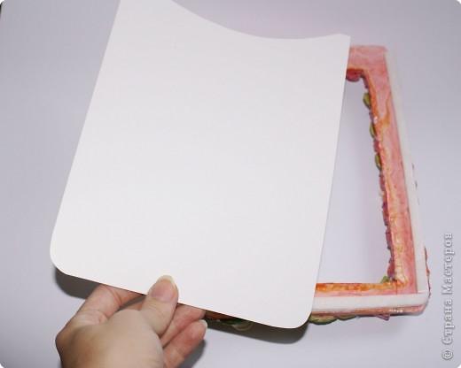 Рамочки Лепка: Рамочка для мамочки Тесто соленое 8 марта. Фото 4