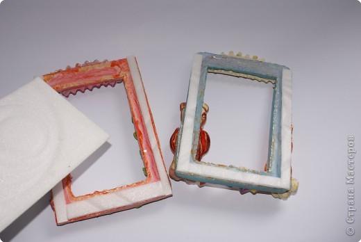 Рамочки Лепка: Именные рамочки Тесто соленое. Фото 5