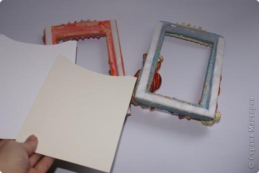 Рамочки Лепка: Именные рамочки Тесто соленое. Фото 6