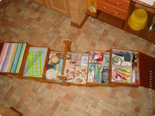 Материалы и инструменты: переносной ящик для рукоделия Фанера. Фото 4