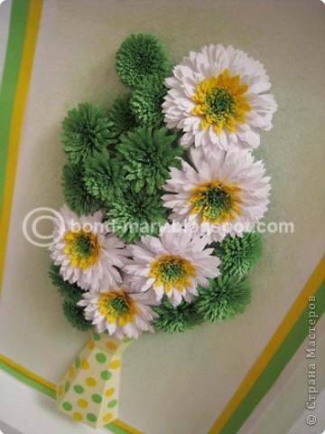 Мастер-класс Квиллинг: Летние хризантемы Бумага. Фото 3