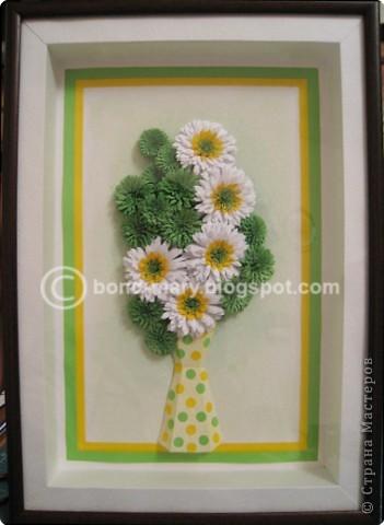 Мастер-класс Квиллинг: Летние хризантемы Бумага. Фото 1