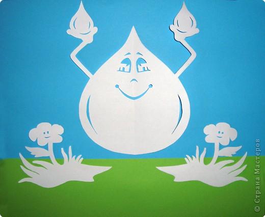 Капелька воды поделки из
