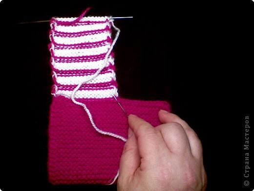 Вязание для новорожденных туфельки