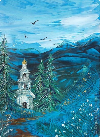 Картина, панно, рисунок Энкаустика: ЭНКАУСТИКА-ВОСКОВАЯ ЖИВОПИСЬ Воск. Фото 41