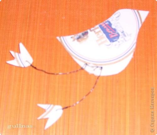 Папье-маше: Птицы. Папье-маше Бумага. Фото 6