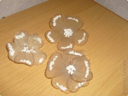 Цветы из капрона страна мастеров