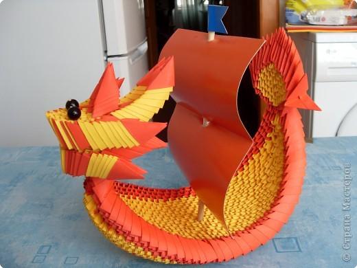 лодка дракона схема