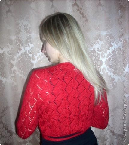 Журнал мод вязание спицами болеро с