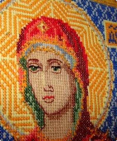 Рхемы вышивки крестом иконы