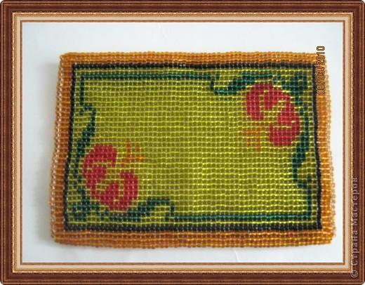 Бисероплетение: Мои бисерные кошельки Бисер, Нитки.  Фото 3.