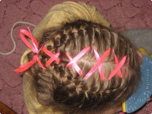 Плетение: Наши причёски