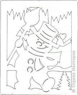 Вырезание: Новогодние мотивы Бумага Новый год. Фото 6