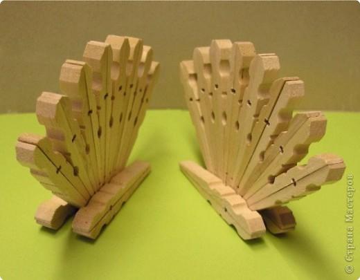 Салфетницы своими руками из прищепок 46