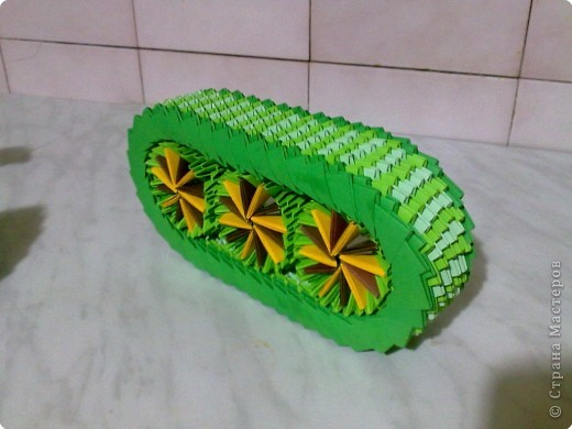 Оригами модульное: МК ТАНК