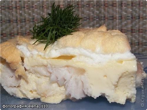 Кулинария Рецепт кулинарный: Рыба под снегом