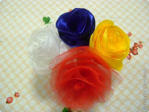 Мастер-класс Шитьё: МК изготовления розы за 1 час Ткань. Фото 14