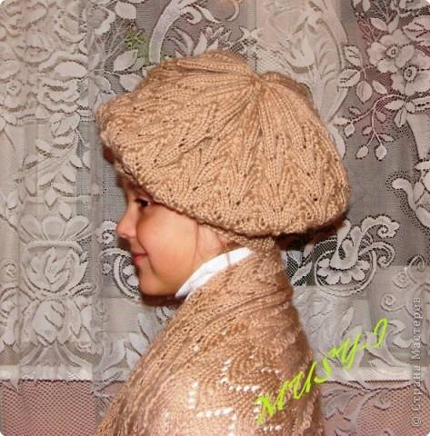 вязание спицами свитера для девочки с