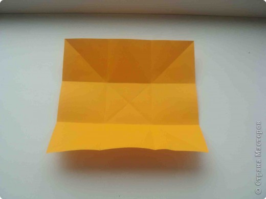 Мастер-класс Оригами: Коробочка (кошелек) с секретом.  Бумага.  Фото 4.