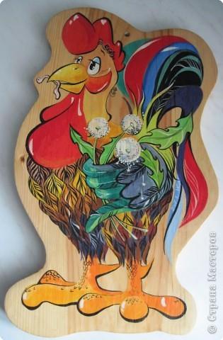 Роспись: Разделочные доски - подарки Надюшки Дерево. Фото 3