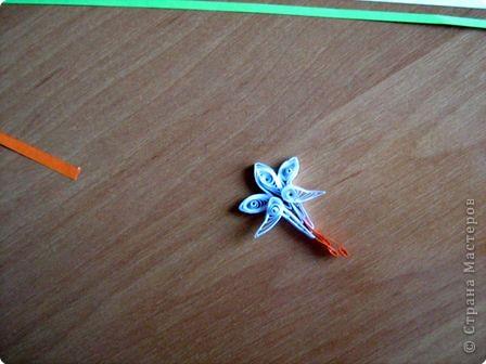 Квиллинг: Очень простые цветочки