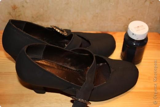 Декупаж: На бал.....или просто старенькие туфельки....+МК