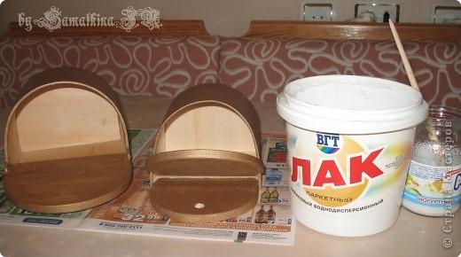 Мастер-класс Декупаж: МК солонка, декупаж + кракелюр на ПВА!!! Салфетки. Фото 7