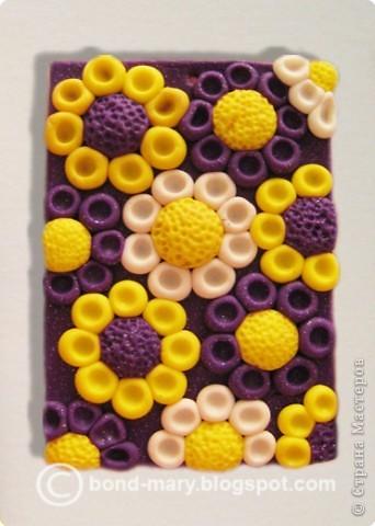 "Лепка: Кулон ""Фиолетовый рай"" (МК). Фото 1"