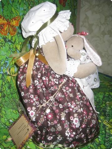 Игрушка Шитьё: радость материнства Ткань День рождения.  Фото 3.