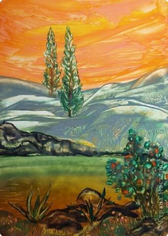 Картина, панно, рисунок Энкаустика: ЭНКАУСТИКА-ВОСКОВАЯ ЖИВОПИСЬ Воск. Фото 51