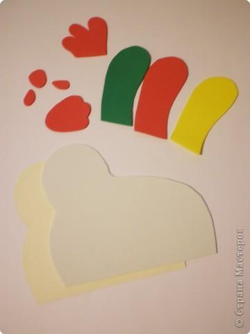 Мастер-класс Аппликация: Пасхальная курочка-несушка Бумага Пасха. Фото 7