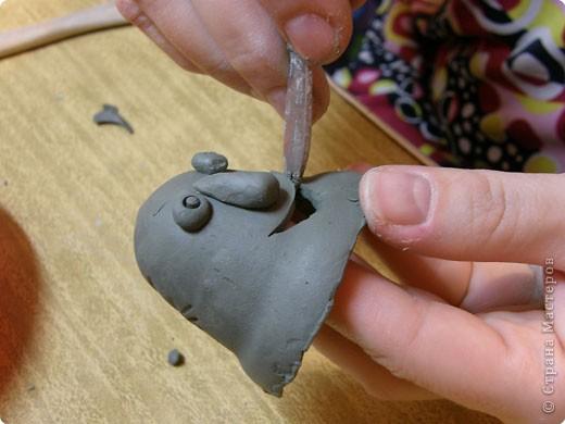 Мастер-класс Лепка: Глиняное литье. Глина. Фото 21