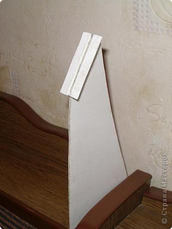 Мастер-класс: МК подставки для рамки Картон, Клеёнка. Фото 5
