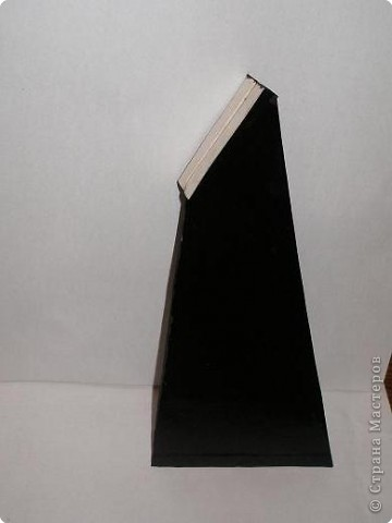 Мастер-класс: МК подставки для рамки Картон, Клеёнка. Фото 6