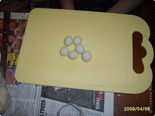 Мастер-класс Лепка: МК.гладиолус из соленого теста Тесто соленое. Фото 1