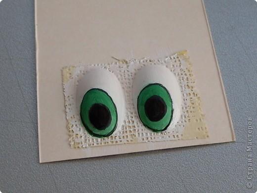 Мастер-класс Роспись: Мультяшный взгляд. Глазки.... Материал бросовый. Фото 8
