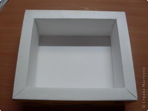 Как сделать рамку для фото из коробки конфет