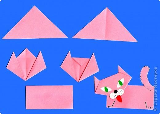 Самые простые оригами для детей 3-4 лет