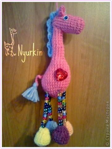 Мастер-класс Вязание крючком: МК по вязанию Сказочной жирафы Пряжа. Фото 5