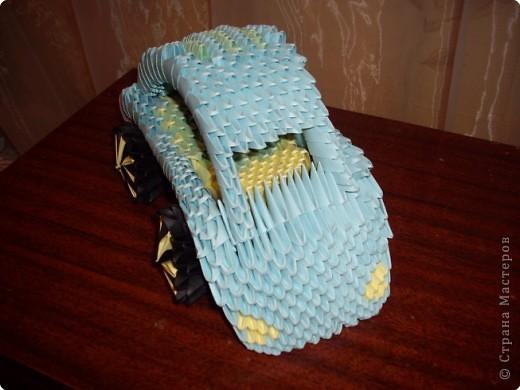 машина оригами