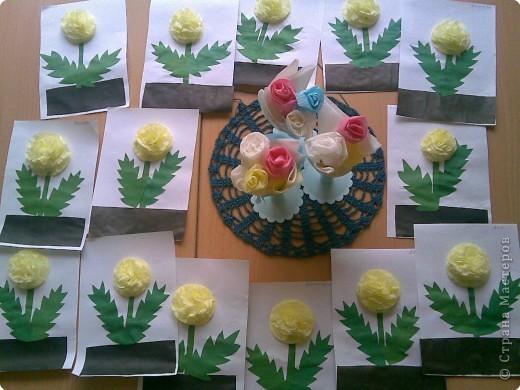 Цветы из бумаги Страна Мастеров.