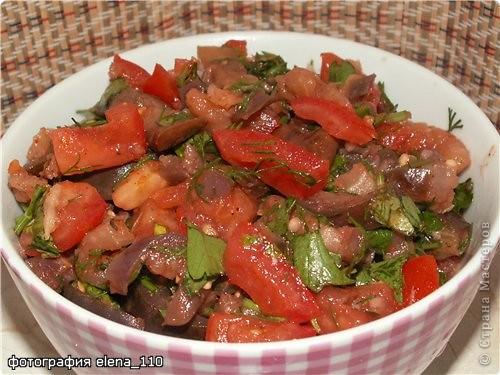 Рецепт кулинарный: Быстрые маринованные баклажаны