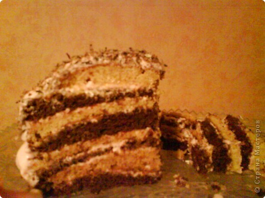 Торт [Вишневый капризk / Кулинарный рецепт
