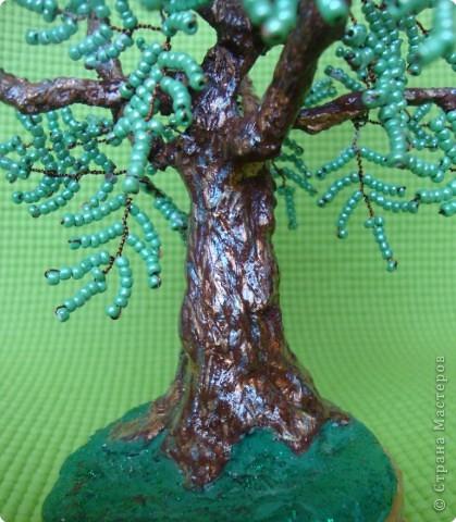 Мастер-класс Бисероплетение: МК - гипсовый ствол для бисерного дерева Бисер, Гипс. Фото 10