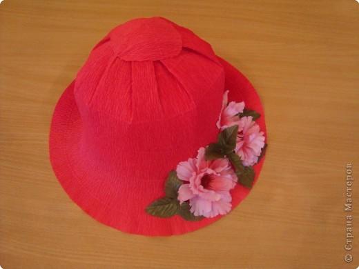 Как сделать шляпки из гофрированной бумаги